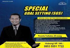 Private Class Special Goal Setting