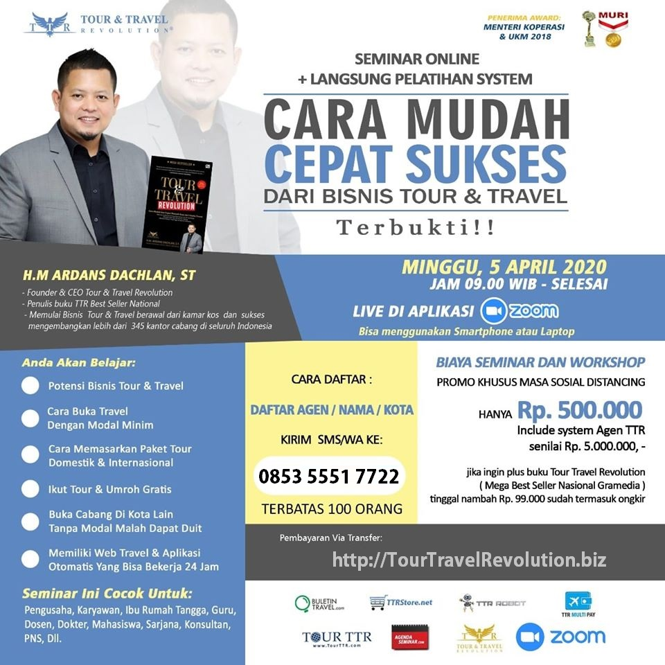 Seminar Online TTR 050420