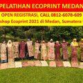 Pelatihan Ecoprint Medan