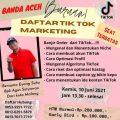 Tik Tok Marketing Banda Aceh
